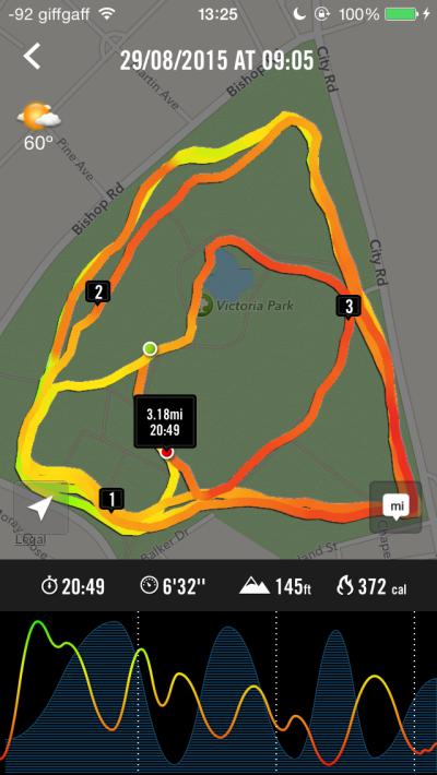 2015-08-29 - St Helens run