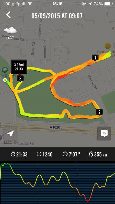2015-09-05 - Beckton Park